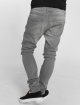 Urban Classics Slim Fit Jeans Knee Cut grijs 3