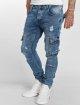VSCT Clubwear Jean carotte antifit Knox Cargo Adjust Hem bleu 0