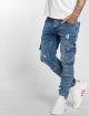 VSCT Clubwear Jean carotte antifit Knox Cargo Adjust Hem bleu 3