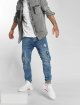 VSCT Clubwear Jean carotte antifit Knox Cargo Adjust Hem bleu 4