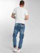 VSCT Clubwear Jean carotte antifit Knox Cargo Adjust Hem bleu 5