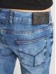 2Y dżinsy przylegające Stone Washed niebieski 4