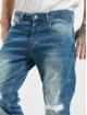 2Y dżinsy przylegające Kerrem niebieski