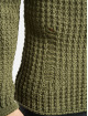 2Y Pulóvre Twig Knit kaki