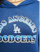 47 Brand Hoody Mlb Dodgers Club blau