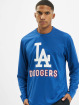 47 Brand Longsleeve MLB Dodgers Leader Microlite blau