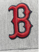 47 Brand Snapback Cap MLB Boston Red Sox Storm Cloud MVP grau