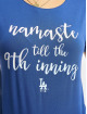 47 Brand T-Shirt MLB Dodgers Forward Lumi blau
