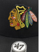 '47 Snapback Cap NHL Chicago Blackhawks Cold Zone DP schwarz