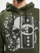 Aarhon Bluzy z kapturem Skull II khaki