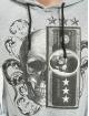 Aarhon Bluzy z kapturem Skull II szary