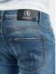 Aarhon Skinny Jeans Cutz modrý
