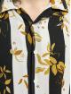Aarhon Skjorte Floral Stipes sort