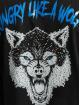 Aarhon t-shirt Wolf zwart
