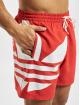 adidas Originals Badeshorts Big Trefoil rot