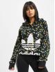 adidas Originals Bluzy z kapturem All Over Print Crop kolorowy