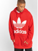 adidas originals Hoodie Tref Over Hood red 2