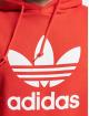 adidas Originals Mikiny Trefoil èervená