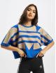 adidas Originals T-Shirt Big Trefoil bleu