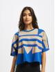 adidas Originals T-Shirt Big Trefoil blue