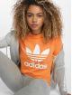 adidas originals T-Shirt Trefoil orange 0