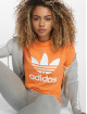 adidas originals t-shirt Trefoil oranje 0