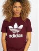 adidas originals T-Shirt Trefoil rot 0
