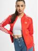 adidas Originals Veste mi-saison légère SST Track rouge