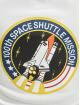 Alpha Industries Hoodie Space Shuttle white