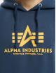 Alpha Industries Sudadera Basic azul