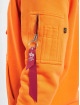 Alpha Industries Sweat capuche Alpha Label orange