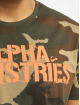 Alpha Industries T-Shirt Blurred camouflage 4