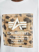 Alpha Industries T-Shirt Camo Block white