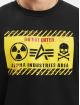 Alpha Industries trui Radioactive zwart