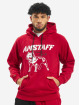 Amstaff Felpa con cappuccio Logo 2.0 rosso