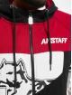 Amstaff Hoodies con zip Zafir rosso
