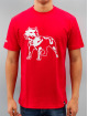 Amstaff T-paidat Logo punainen