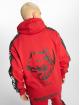 Amstaff Zip Hoodie Avator röd 1