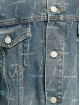 Balenciaga Jean Bundy Large Fit All Over Logo modrá
