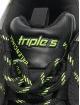 Balenciaga sneaker Triple S Allover Logo zwart