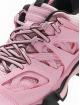 Balenciaga Sneakers Track Black Sole rosa