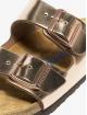 Birkenstock Claquettes & Sandales Arizona NL rouge 6