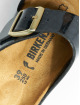 Birkenstock Slipper/Sandaal Arizona BF zwart 5