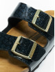 Birkenstock Slipper/Sandaal Arizona BF zwart 8