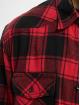 Brandit Рубашка Check красный 3