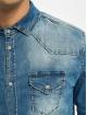 Brandit Рубашка Riley Denim синий