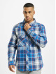 Brandit Koszule Check niebieski
