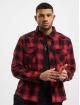Brandit overhemd Check rood 0