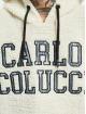 Carlo Colucci Felpa con cappuccio Teddy bianco