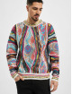 Carlo Colucci Pullover Jacquard colored